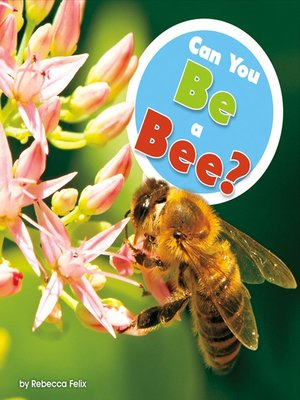 cover image of Can You Be a Bee?