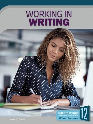 cover image of Working in Writing