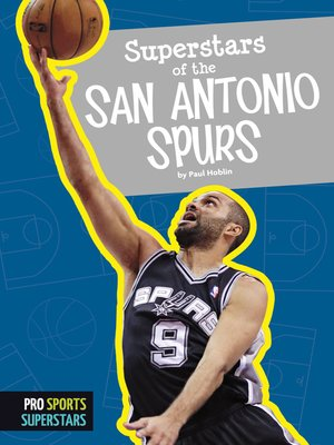 cover image of Superstars of the San Antonio Spurs