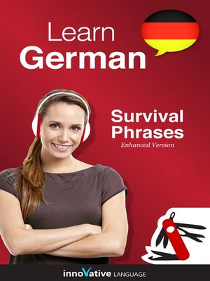 cover image of Learn German: Survival Phrases German