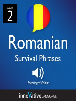 cover image of Romanian Survival Phrases, Volume 2