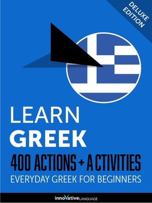 cover image of Learn Greek: 400 Actions + Activities