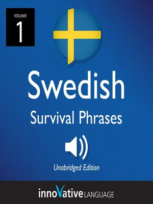 cover image of Learn Swedish: Swedish Survival Phrases, Volume 1