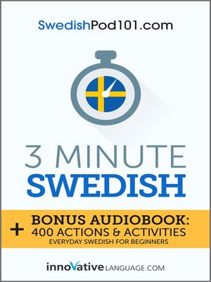 cover image of 3-Minute Swedish