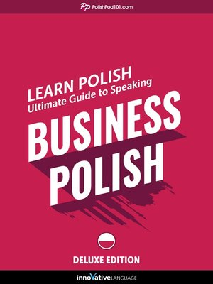 cover image of Ultimate Guide to Speaking Business Polish for Beginners