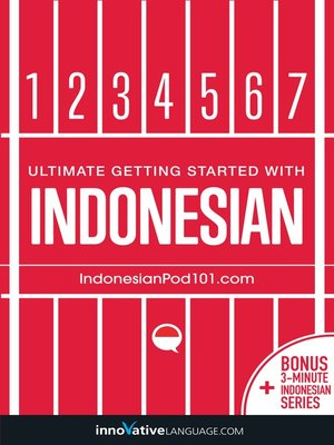 cover image of Learn Indonesian: Ultimate Getting Started with Indonesian