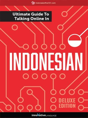cover image of The Ultimate Guide to Talking Online in Indonesian
