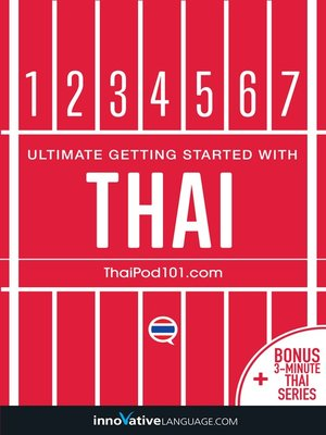 cover image of Learn Thai: Ultimate Getting Started with Thai