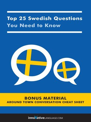 cover image of Top 25 Swedish Questions You Need to Know