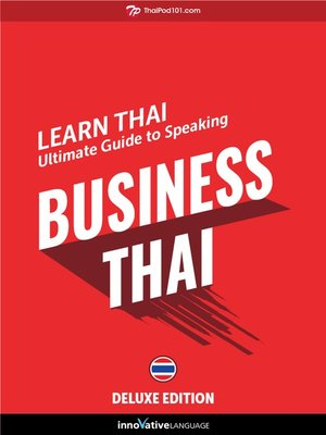 cover image of Ultimate Guide to Speaking Business Thai for Beginners