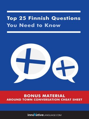 cover image of Top 25 Finnish Questions You Need to Know