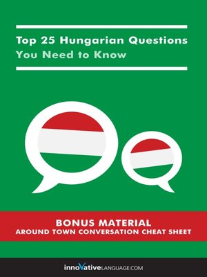 cover image of Top 25 Hungarian Questions You Need to Know