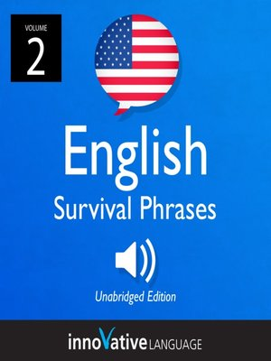 cover image of English Survival Phrases, Volume 2