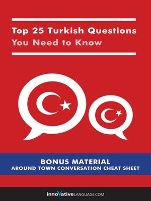 cover image of Top 25 Turkish Questions You Need to Know