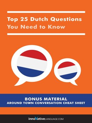 cover image of Top 25 Dutch Questions You Need to Know