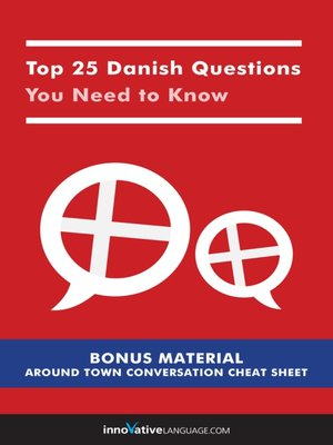cover image of Top 25 Danish Questions You Need to Know