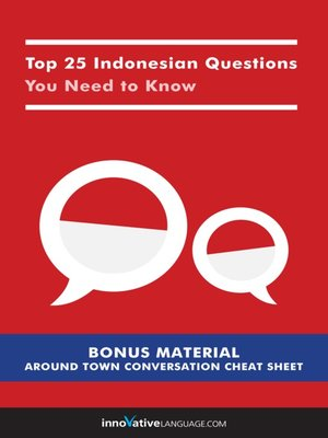 cover image of Top 25 Indonesian Questions You Need to Know