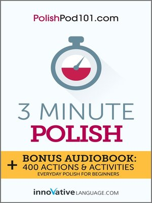cover image of 3-Minute Polish