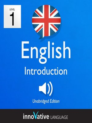 cover image of Learn British English: Level 1: Introduction to British English, Volume 1