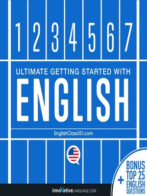 cover image of Ultimate Getting Started with English