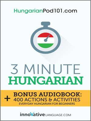 cover image of 3-Minute Hungarian