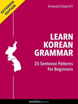 cover image of Learn Korean Grammar