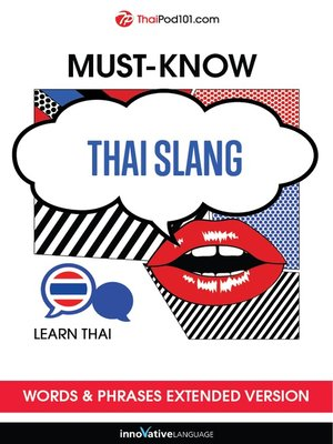 cover image of Must-Know Thai Slang Words & Phrases