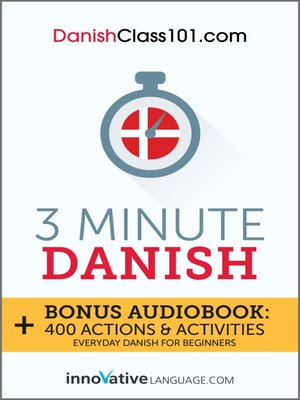 cover image of 3 Minute Danish