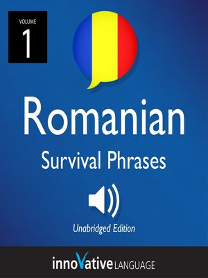 cover image of Romanian Survival Phrases, Volume 1
