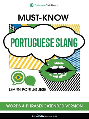 cover image of Must-Know Portuguese Slang Words & Phrases