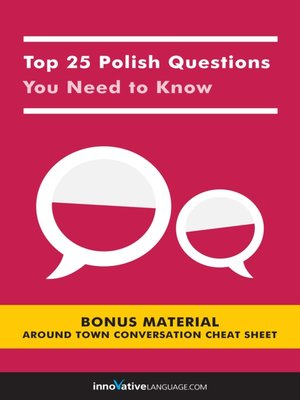 cover image of Top 25 Polish Questions You Need to Know