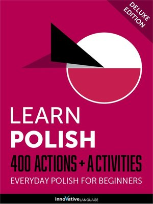 cover image of Learn Polish: 400 Actions + Activities