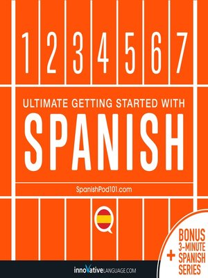 cover image of Ultimate Getting Started with Spanish