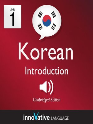 cover image of Learn Korean: Level 1: Introduction to Korean, Volume 1