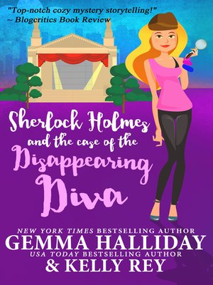 cover image of Sherlock Holmes and the Case of the Disappearing Diva