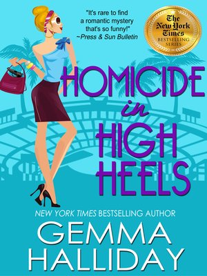 cover image of Homicide in High Heels