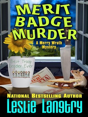 cover image of Merit Badge Murder
