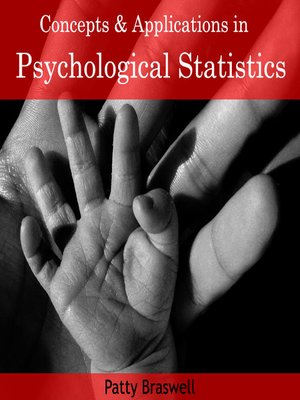 cover image of Concepts and Applications in Psychological Statistics