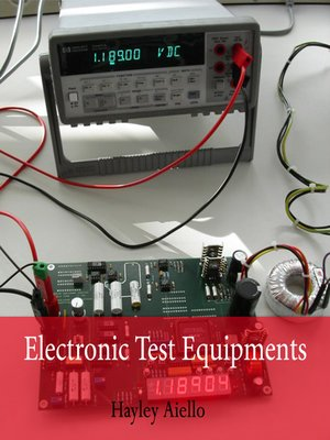 cover image of Electronic Test Equipments