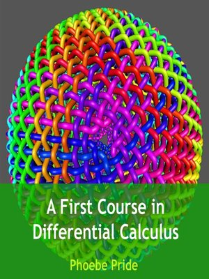 cover image of A First Course in Differential Calculus