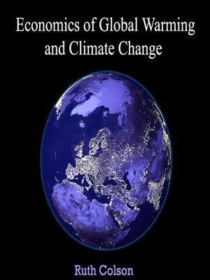 cover image of Economics of Global Warming and Climate Change
