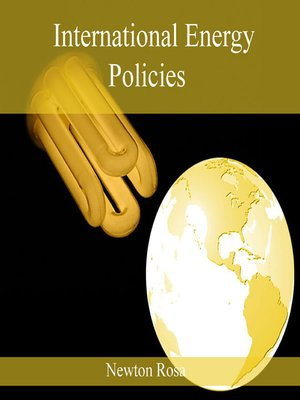 cover image of International Energy Policies