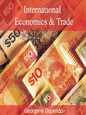 cover image of International Economics and Trade