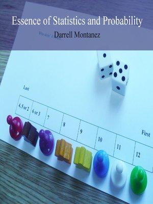 cover image of Essence of Statistics and Probability