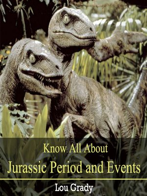 cover image of Know All About Jurassic Period and Events