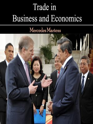 cover image of Trade in Business and Economics