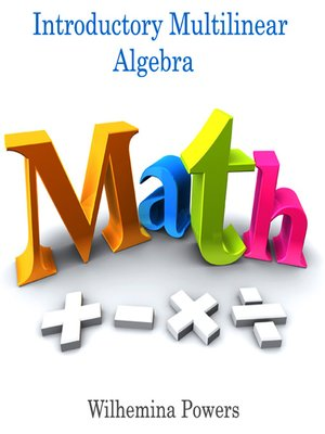 cover image of Introductory Multilinear Algebra