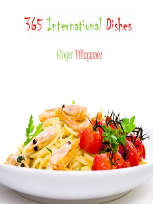 cover image of 365 International Dishes