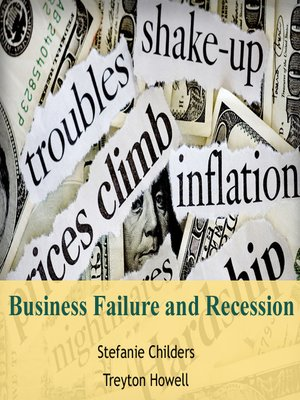 cover image of Business Failure and Recession