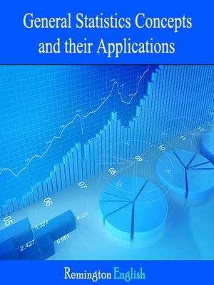 cover image of General Statistics Concepts and their Applications